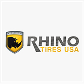בתמונה -לוגו של Rhino tires (יצרנית של צמיגים)