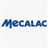 בתמונה- לוגו של Mecalac